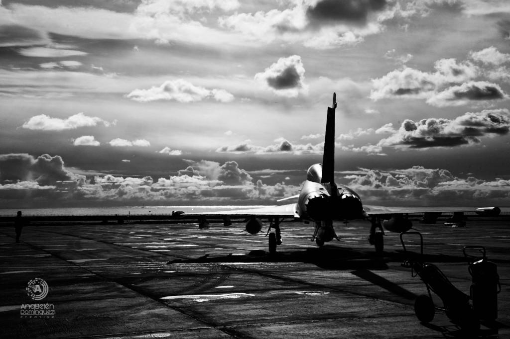 Fotografia aviones caza en Lanzarote nº 4954