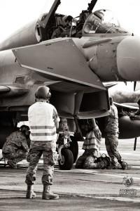 Fotografia aviones caza en Lanzarote nº 5006