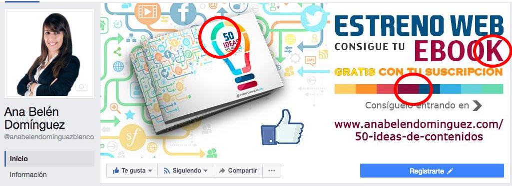 Portadas perfectas en Facebook
